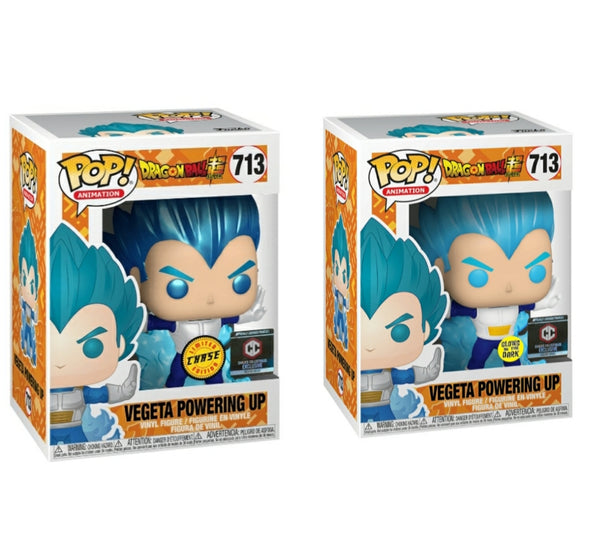 Vegeta Powering Up Chase Bundle