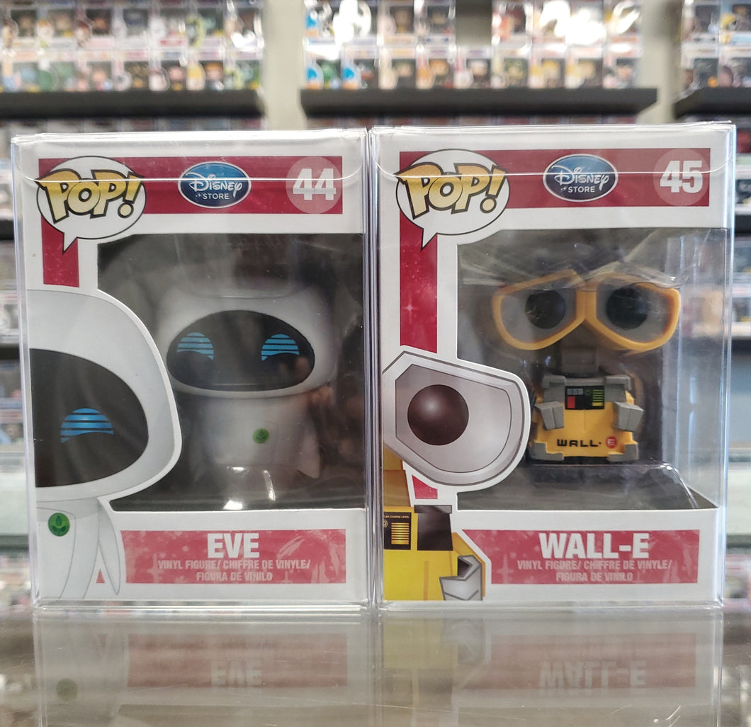 Wall-E & Eve (Disney Store)