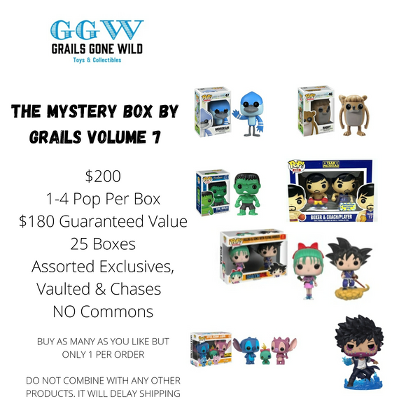 The Mystery Box by Grails Volume 7