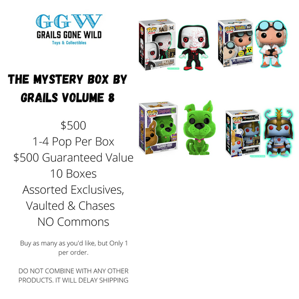 The Mystery Box by Grails Volume 8