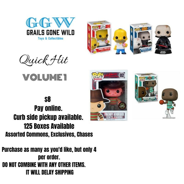 Quick Hit Mystery Box Volume 1