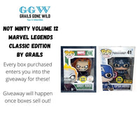 Not Minty Volume 12 Mystery Box  Marvel Legends Classic Edition by Grails