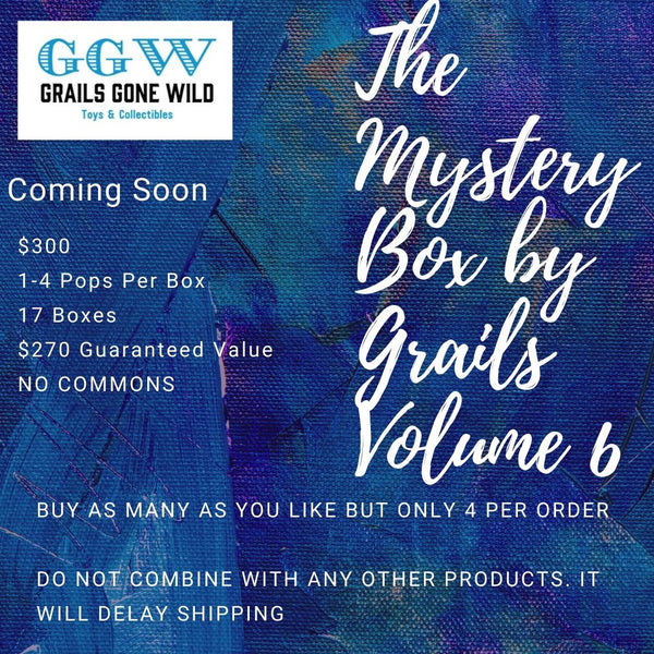 The Mystery Box by Grails Volume 6