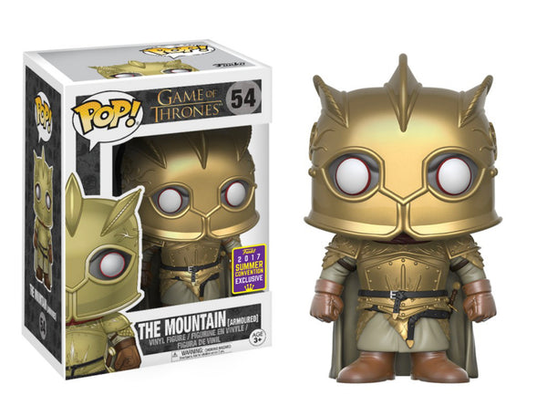 The Mountain (Armoured) SDCC Exclusive (Shared Sticker)