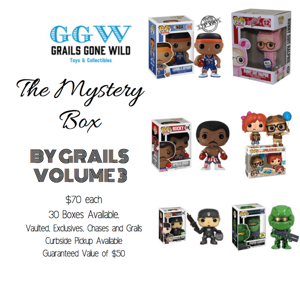 The Mystery Box by Grails Volume 3