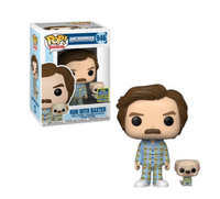 Ron with Baxter SDCC (Shared Sticker)
