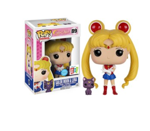 Sailor Moon w/ Luna GO! Exclusive