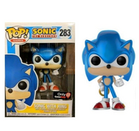Sonic w/ Ring (Metallic) Gamestop Exclusive
