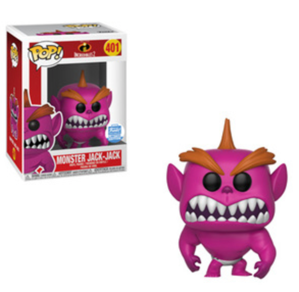 Monster Jack-Jack Funko Shop Exclusive