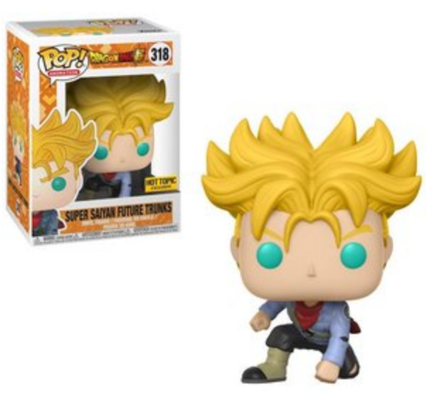 Super Saiyan Future Trunks Hot Topic Exclusive