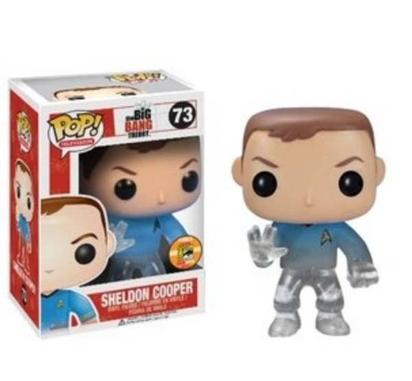 Sheldon Cooper (Star Trek) SDCC Exclusive