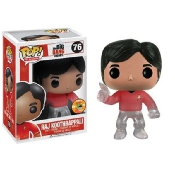 Raj Koothrappali (Star Trek) SDCC Exclusive