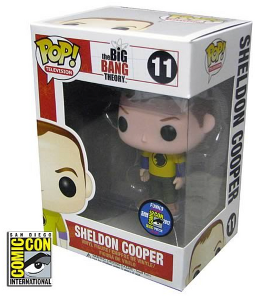 Sheldon Cooper (Hawkman Shirt) SDCC Exclusive