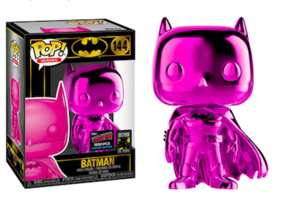 Purple Chrome Batman LE 1500 NYCC Exclusive