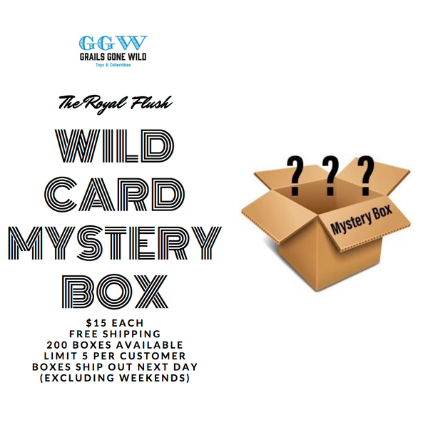 Royal Flush: Wild Card Mystery Box