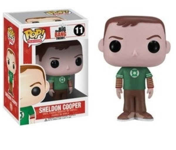 Sheldon Cooper (Green Lantern Shirt)