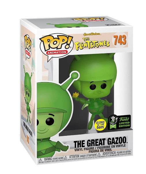 The Great Gazoo Funko Exclusive (GITD)
