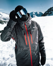 Fenix Ski Jacket Pearl Fire/Red
