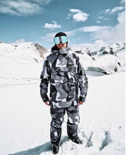 Dune Ski Jacket Light Grey Atlantic Desert