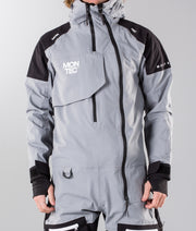 Next Monosuit Grey Melange