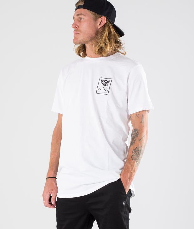 Ridge T-shirt White