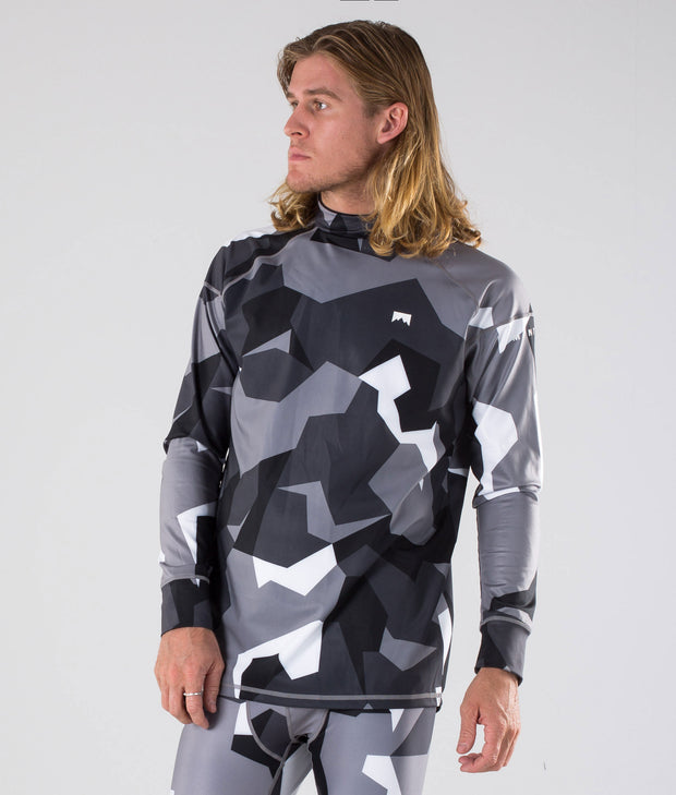 Zulu Base Layer Top Arctic Camo