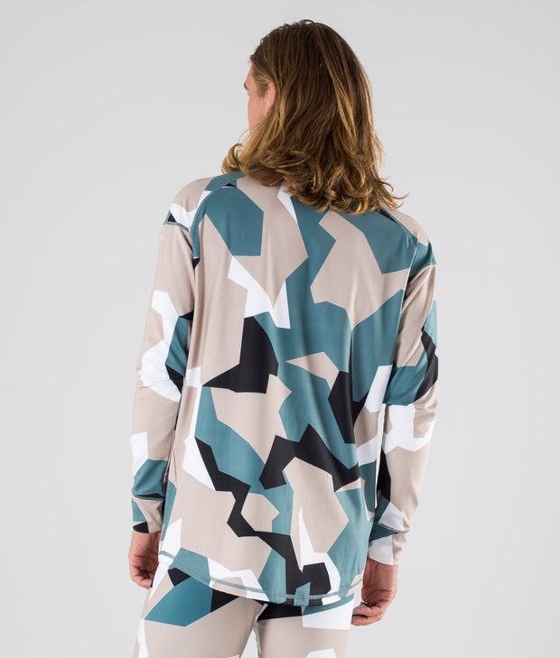 Zulu Base Layer Top Atlantic Camo