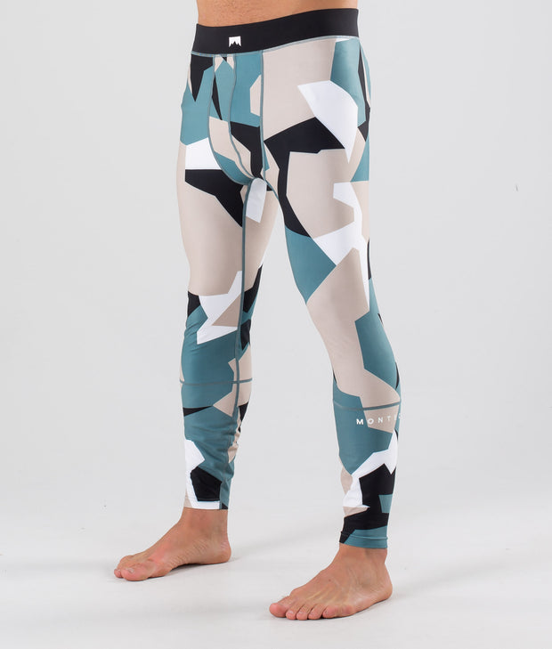 Zulu Base Layer Pant Atlantic Camo