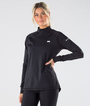 Zulu W Base Layer Top Black