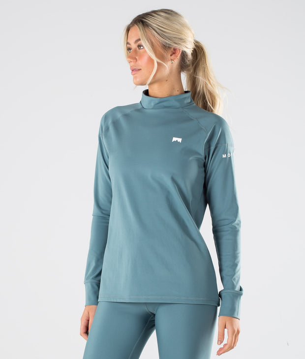 Zulu W Base Layer Top Atlantic