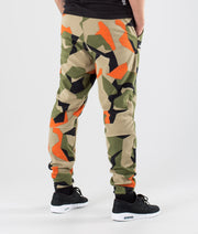 Echo Pants Green Orange Camo