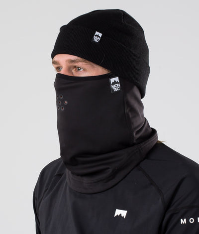 Ice Tube Facemask Black