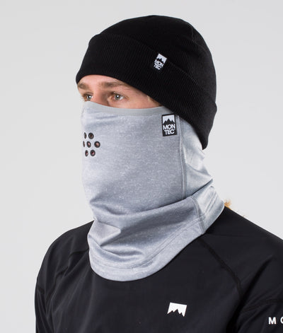 Ice Tube Facemask Grey Melange