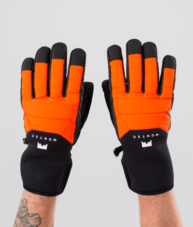 Kilo Glove Ski Gloves Orange