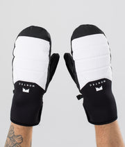 Kilo Mitt Ski Gloves White