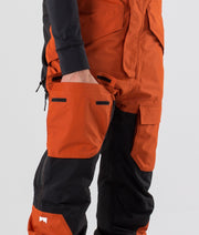 Fawk Ski Pants Clay/Black