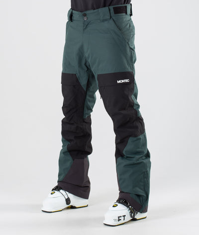 Dune Ski Pants Dark Atlantic/Black