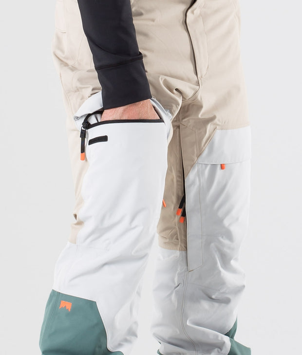 Dune Ski Pants Desert Light Grey Atlantic