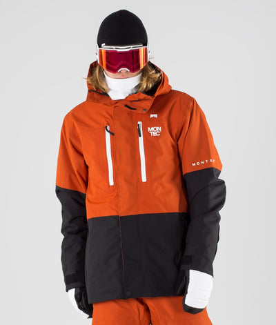Fawk Ski Jacket Clay/Black