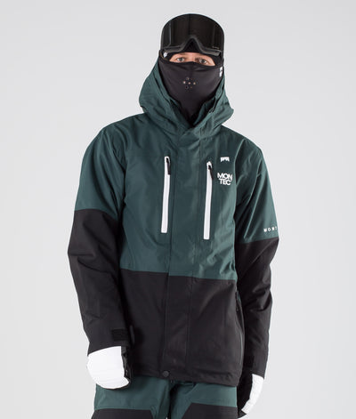 Fawk Ski Jacket Dark Atlantic/Black