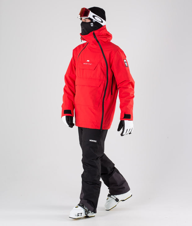 Doom Ski Jacket Red