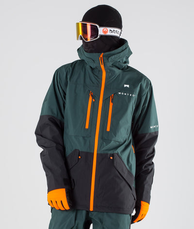 Fenix Ski Jacket Dark Atlantic Black