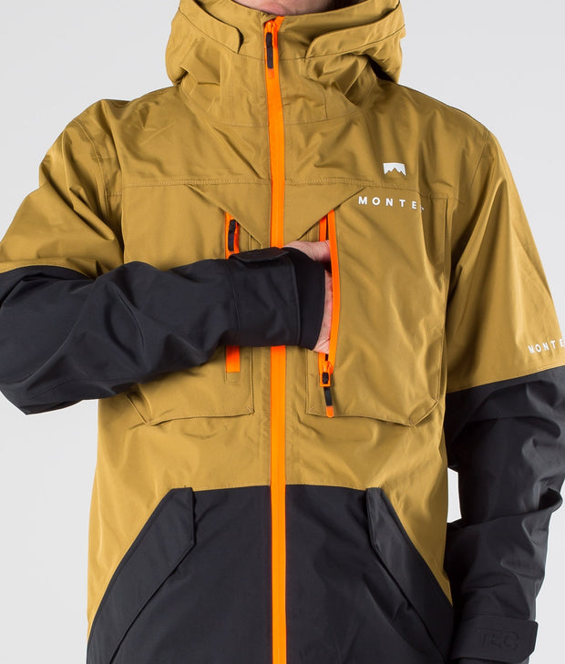 Fenix Ski Jacket Gold/Black