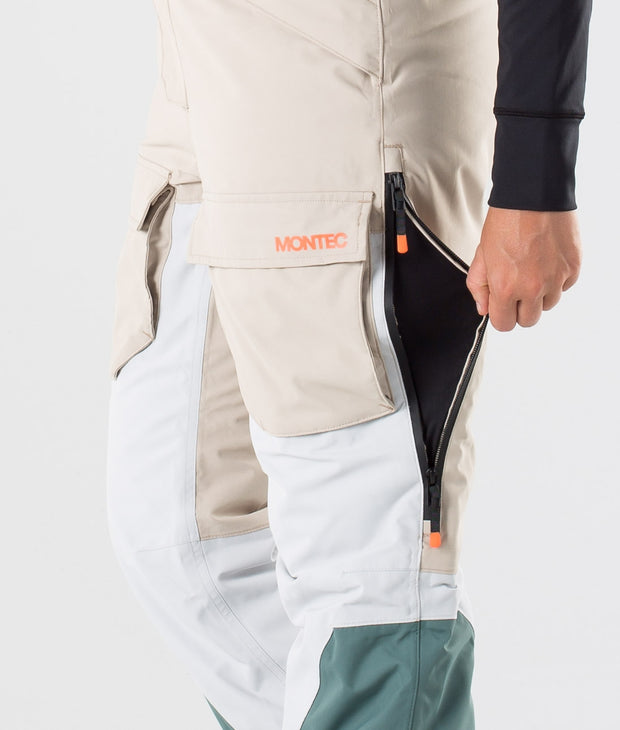Fawk W Ski Pants Desert Light Grey Atlantic
