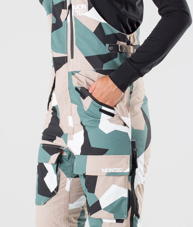 Fawk W Ski Pants Atlantic Camo