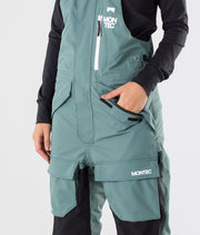 Fawk W Ski Pants Atlantic/Black