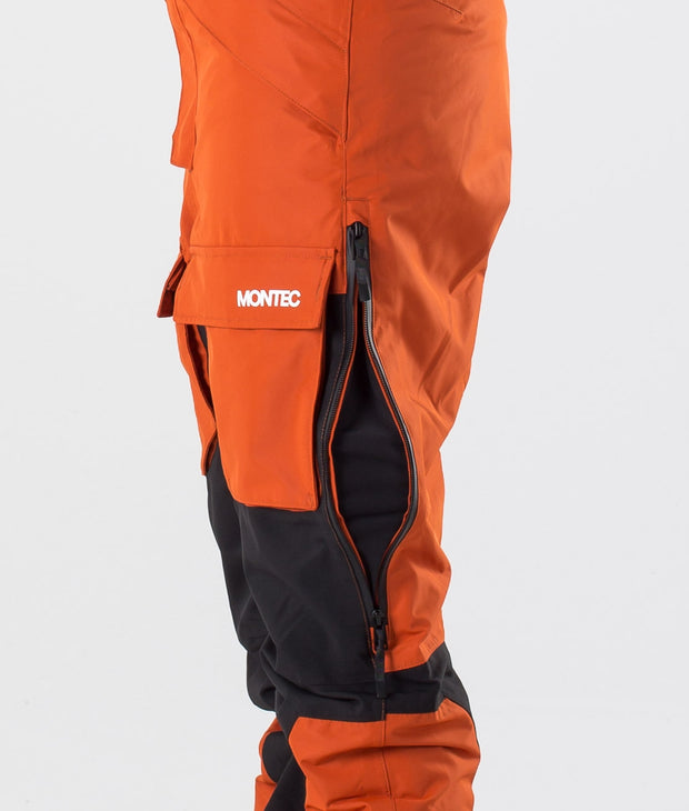 Fawk W Ski Pants Clay/Black