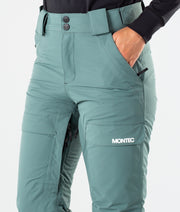 Dune W Ski Pants Atlantic