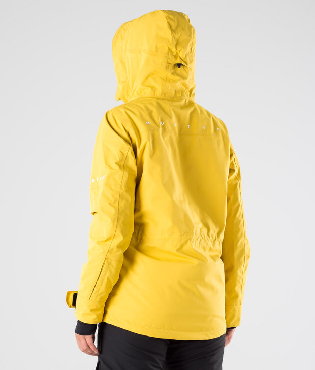 Dune W Ski Jacket Yellow