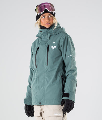 Fawk W Ski Jacket Atlantic